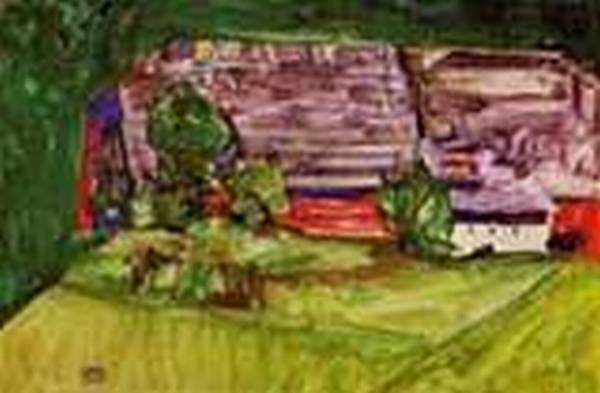 Peasant Homestead in a Landscape 1913